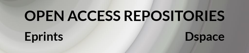 open access repositories (eprints e dspace)